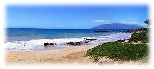 Kama'ole Beach cove