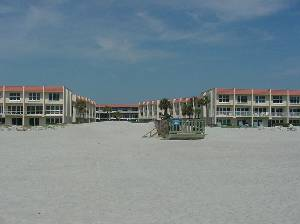Buildings from Beach