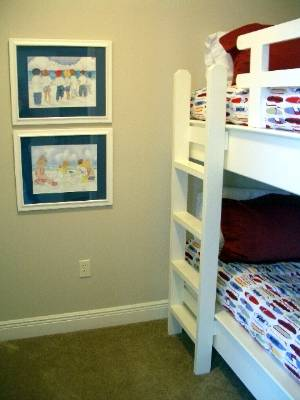 Guest beds (bunks)