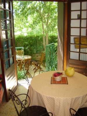 Livingroom & garden