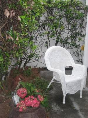 Little side patio