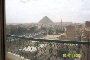 Pyramid View Balcony