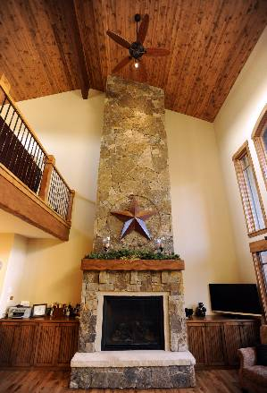 Stone Fire Place!!