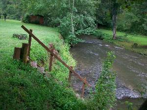 steps to creek