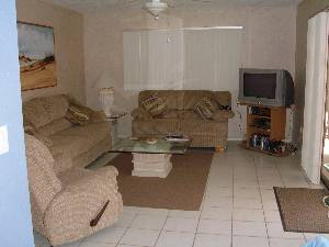 Family room, HD tv,