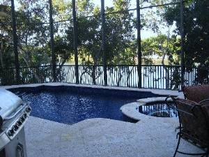 Pool & outdoor patio