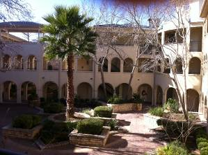 Lovely courtyards