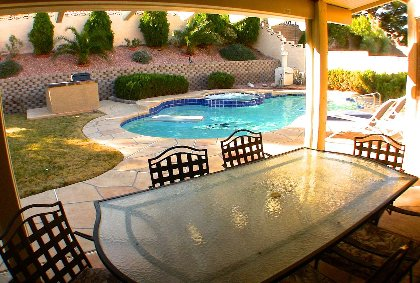 Patio Set & Pool