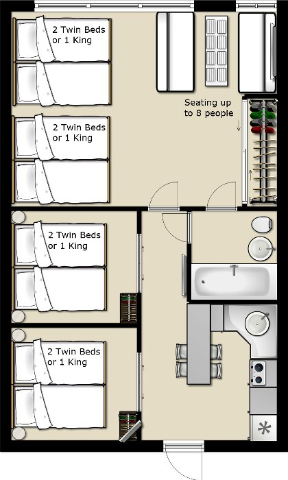 Floor plan Art Deco