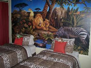 Jungle Safari room