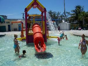 Beach water park!