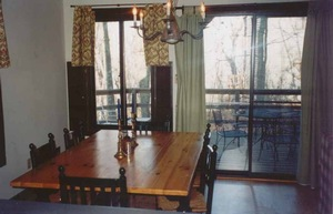 dining room/deck