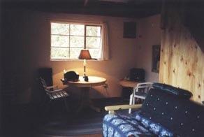 Futon, great room