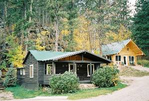 Autumn at the Cabins