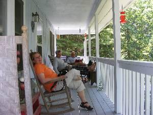 The Upper Porch