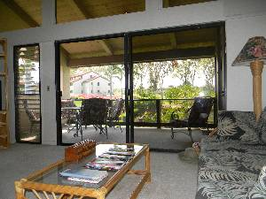 Living area/lanai