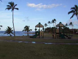 Play Area at Poipu