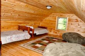 Cabin Bedroom Loft