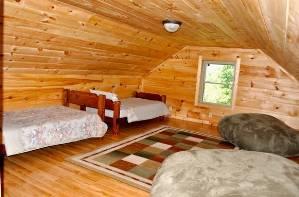 Cabin Bedroom Loft