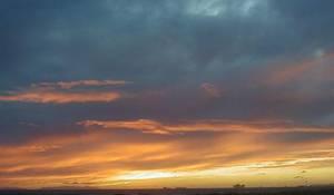 Actual sunset.