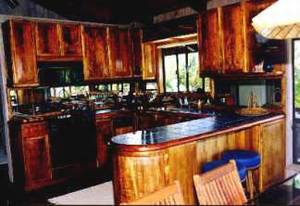 Koa Wood Kitchen