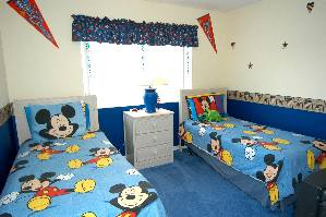 Disney Room with PS2