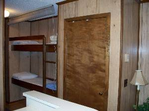bunks in 1 and 2 BR