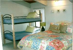 Queen/Bunk Bedroom