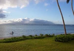 Beachfront view