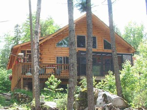Maine Kennebec Moose River Valley Beach Rentals