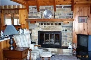 Lving Rm / Fireplace