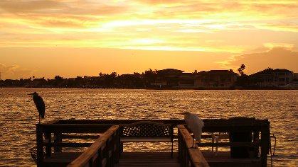 Sunrise from condo
