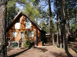 pinetop cabins view home arizona cabin national vacation rentals on forest by log city