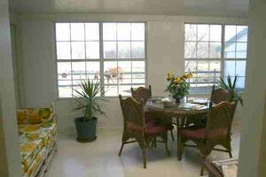 Ground floor sunroom