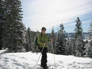 Snow Shoeing