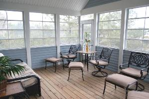 Second Floor Sunroom