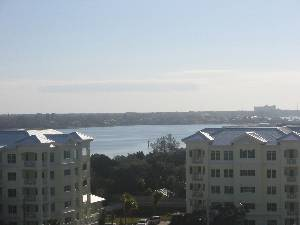 Bay view from unit