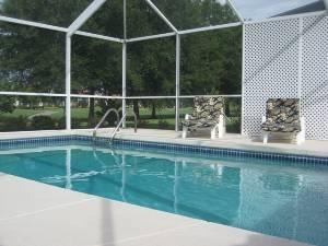 Oversized Pool/Lanai