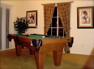 Pool Table + Balcony