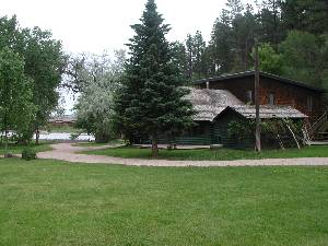 The Lodge and Lake