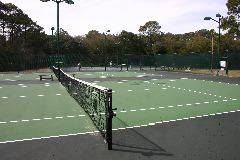 On-site tennis
