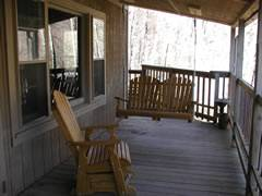 covered porch&swing