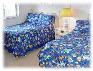 BR w/ 2 full beds