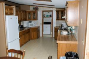 Kitchen/Laundry Room