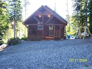 Clarks Fork Cabin