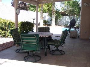 Covered Patio Set