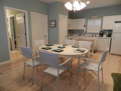 large kitchen/dining