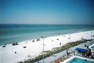 Balcony beachview