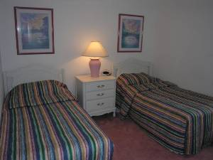 2 twin beds Rm#3
