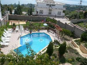 pool from veranda